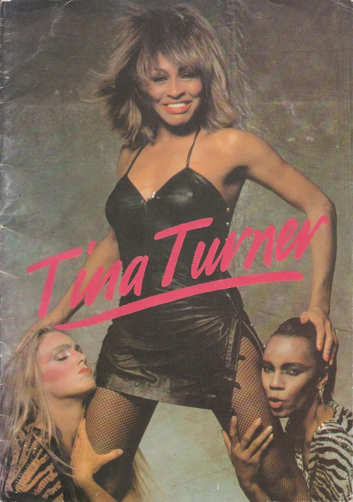 Tina Turner - 1984 UK tour book - 1