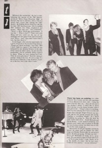 Tina Turner - 1984 UK tour book - 10