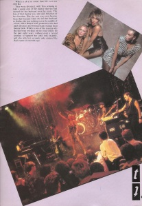Tina Turner - 1984 UK tour book - 11