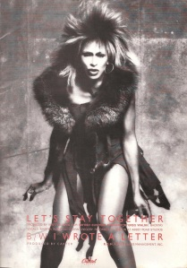 Tina Turner - 1984 UK tour book - 15