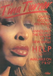 Tina Turner - 1984 UK tour book - 2