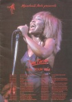 Tina Turner - 1984 UK tour book - 3