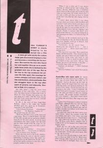 Tina Turner - 1984 UK tour book - 5