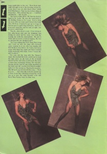 Tina Turner - 1984 UK tour book - 6
