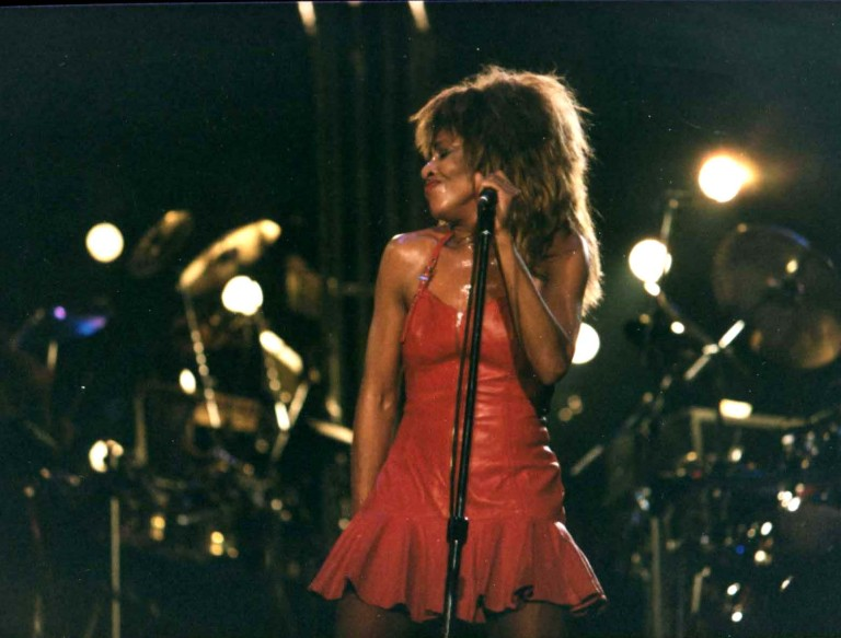 Tina Turner - live during her Break Every Rule tour 1987