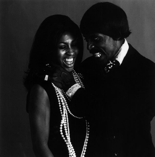 Ike & Tina Turner - photo by Jack Robinson 1969 - 1