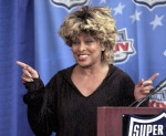 Tina Turner during the Superbowl press conference - January 29, 2000 - 4