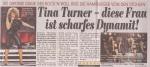 Tina Turner - Bild Hamburg newspaper - January 31, 2009