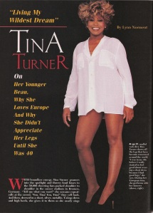 Tina Turner - Ebony magazine - September 1996 - 1