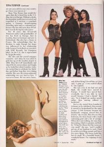 Tina Turner - Ebony magazine - September 1996 - 3