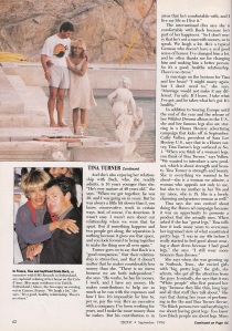 Tina Turner - Ebony magazine - September 1996 - 5