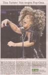 Tina Turner - Hamburger Abendblatt newspaper - January 31, 2009