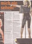 Tina Turner - Hamburger Morgenpost newspaper - February 1, 2009 - 2