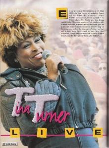 Tina Turner - Ischgl magazine 1996 - 1