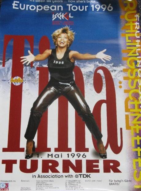 Tina Turner - Ischgl 1996 - Poster