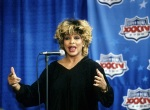 Tina Turner during the Superbowl press conference - January 29, 2000
