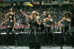 Tina Turner performs during the Superbowl pre-game show - January 30, 2000 - 10