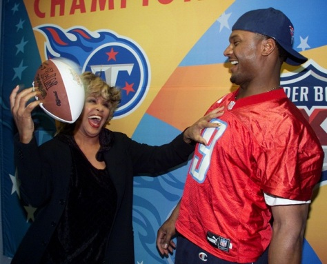 Tina Turner during the Superbowl 2000 press conference - January 29, 2000