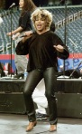 Tina Turner during the Superbowl pre-game show rehearsals - January 29, 2000