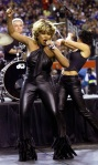 Tina Turner performs during the Superbowl pre-game show - January 30, 2000 - 2