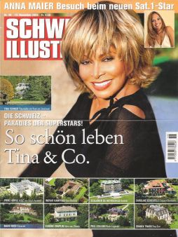 Tina Turner - house in Schweizer Illustrierte - 13 November 2006 - 1