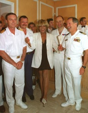 Tina Turner - receiving honorary citizenship of Villefranche sûr Mer - 6