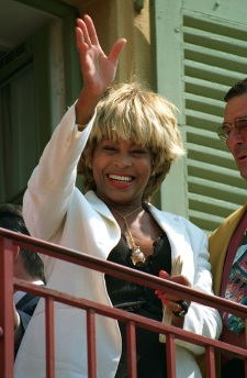Tina Turner - receiving honorary citizenship of Villefranche sûr Mer - 9
