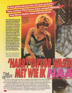 Tina Turner & Harry Taylor - high school reunion - 1