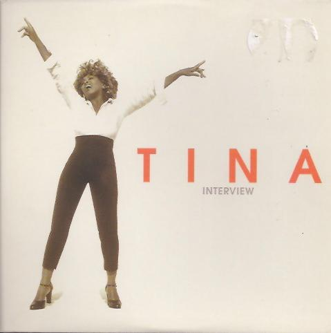 Tina Turner - Twenty Four Seven interview CD - front cover