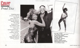 Tina Turner - Vanity Fair 1993 - 2