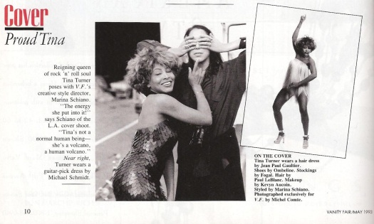 Tina Turner - Vanity Fair 1993 - 2