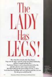 Tina Turner - Vanity Fair 1993 - 3