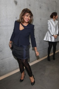 Tina Turner - Armani Fashion Show Milano Feb 2011 16