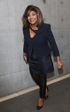 Tina Turner - Armani Fashion Show Milano Feb 2011 12