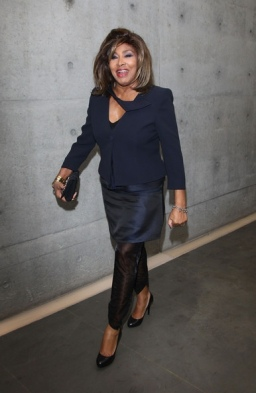 Tina Turner - Armani Fashion Show Milano Feb 2011 11