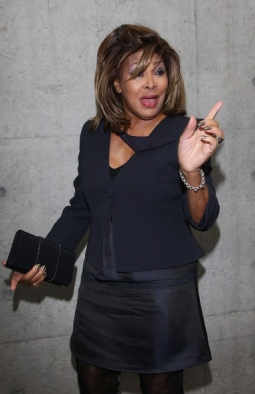 Tina Turner - Armani Fashion Show Milano Feb 2011 10