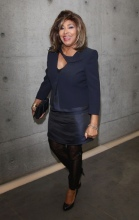 Tina Turner - Armani Fashion Show Milano Feb 2011 8