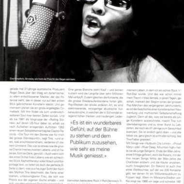Tina Turner -Bolero Magazine - 6