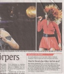 Tina Turner - Abendzeitung - February 25, 2009 - 2