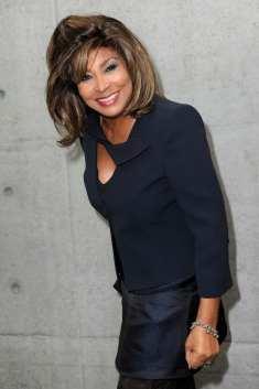 Tina Turner - Giorgio Armani fashion show - Milan, Italy - February 28, 2011 - 01