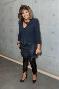 Tina Turner - Giorgio Armani fashion show - Milan, Italy - February 28, 2011 - 02