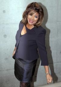 Tina Turner - Giorgio Armani fashion show - Milan, Italy - February 28, 2011 - 04