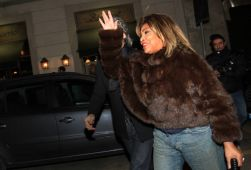 Tina Turner - Armani Fashion Show Milano Feb 2011 4