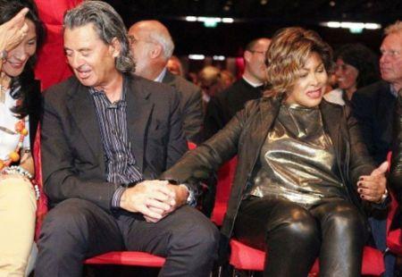 "Tina Turner & Erwin Bach at "" Children Beyond"" Press Conference - Zurich Sept 28 2011"