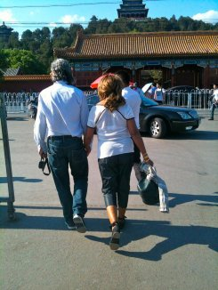 Tina Turner & Erwin Bach - Beijing - May 2012