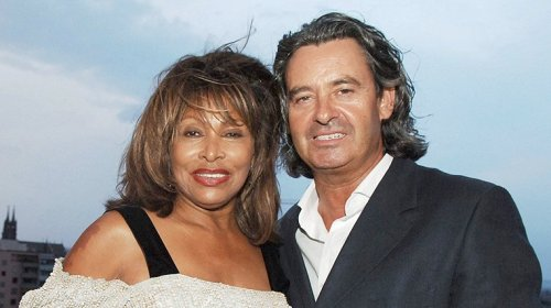 Tina Turner & Erwin Bach at Arthur Cohn Gala - Basel 27 July 2006