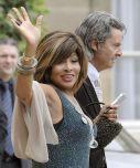 Tina Turner & Erwin Bach at Armani Legion d'Honneur - Paris 3 July 2008