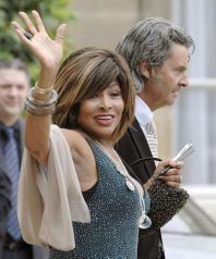 Tina Turner & Erwin Bach at Armani Legion d'Honneur - Paris 3 July 2008