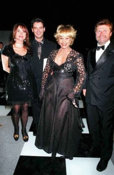 "Tina Turner & Erwin Bach at Cartier ""So Pretty"" perfume launch - Paris 11 October 1995"