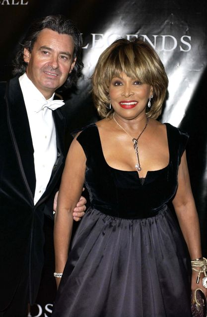 Tina Turner & Erwin Bach at Oprah's Legend Ball - Santa Barbara - 14 May 2005